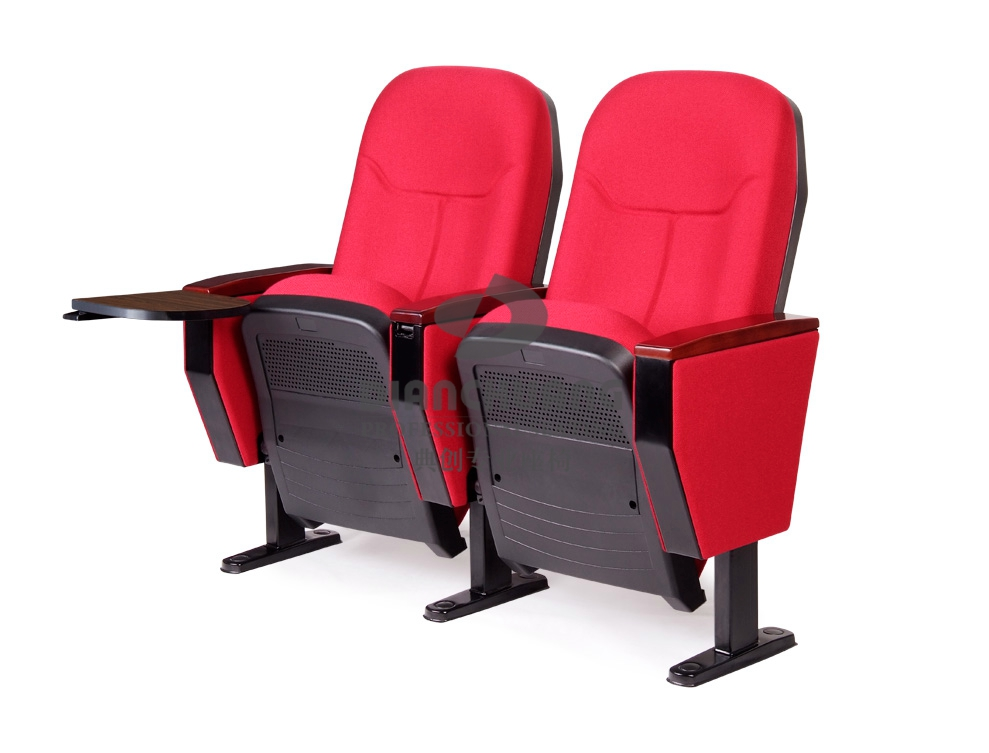 红色双排礼堂椅-DC4031