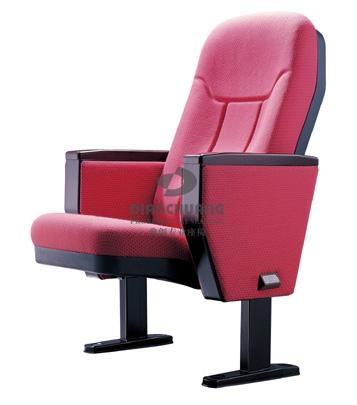 浅红色单排礼堂座椅-DC4032