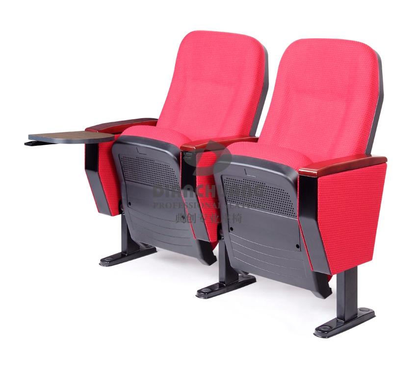 红款阻燃面料双排礼堂座椅-DC4041