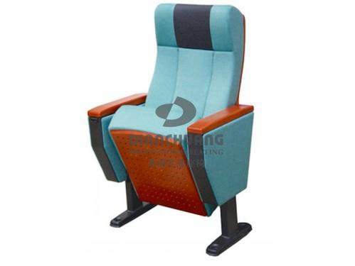 单排固定脚厚身礼堂椅-5040