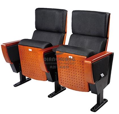 黑色双排礼堂座位椅-5026